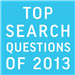 Top Search Questions of 2013