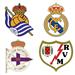 Real Sociedad v Real Madrid / Deportivo la Coruña v Rayo: Aug 31, 2014
