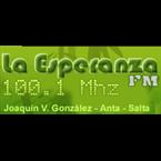 FM La Esperanza - 100.1 FM Joaquin V. Gonzalez