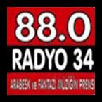 Radio Radyo 34 - 88.0 FM Istanbul Online