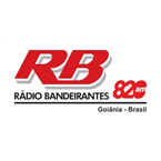 Rádio Bandeirantes AM (Goiânia) 820 (National News)