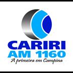 Radio Rádio Cariri AM - 1160 AM Campina Grande, PB Online
