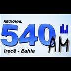 Radio Regional de Irece - 540 AM Irece, BA