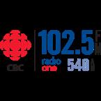 CBKR-FM - CBC Radio One Regina 102.5 FM Regina, SK