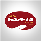 Radio Gazeta AM - 820 AM Vitoria Online