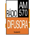 Radio Rádio Difusora AM - 570 AM Taubate, SP Online
