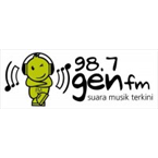 Gen FM 98.7 (Top 40/Pop)