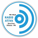 Radio Ativa FM - 105.9 FM Vera Cruz do Oeste
