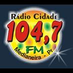 Rádio Cidade FM - 104.7 FM Medianeira, PR