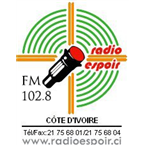 Radio Espoir - 102.8 FM Abidjan, Abidjan