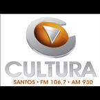 Rádio Cultura FM - 106.7 FM Santos, SP