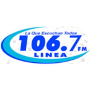Linea 106.7 FM - HIM24 Logo