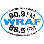 WRAF - Toccoa Falls Radio 90.9 FM Toccoa Falls, GA
