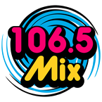 106.5   Mix 106.5 (Adult Contemporary)