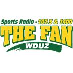 WDUZ-FM - The Fan 107.5 FM Green Bay, WI
