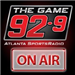 92-9 The Game (WZGC) - 92.9 FM