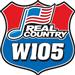 W105 (KWMW) - 105.1 FM