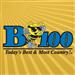 B100 (WBYT) - 100.7 FM