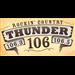 Thunder 106 (WKMK) - 106.3 FM