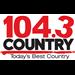 Country 104.3 (CJQM-FM)