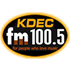 KDEC-FM - 100.5 FM