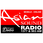 Asian Sound Radio - 1377 AM Manchester
