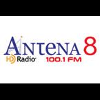Antena 8 FM - 100.1 FM Ciudad de Panamá