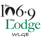 WLGE - The Lodge 106.9 FM Ephraim, WI
