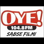 104.8 OYE FM Logo