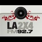 92.7 La 2x4 FM Logo