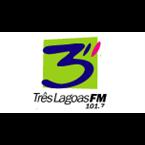 Tres Lagoas FM - 101.7 FM Três Lagoas